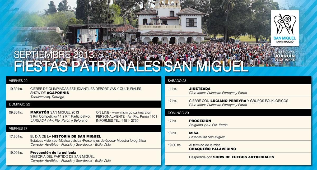 Fiestas Patronales San Miguel 2013