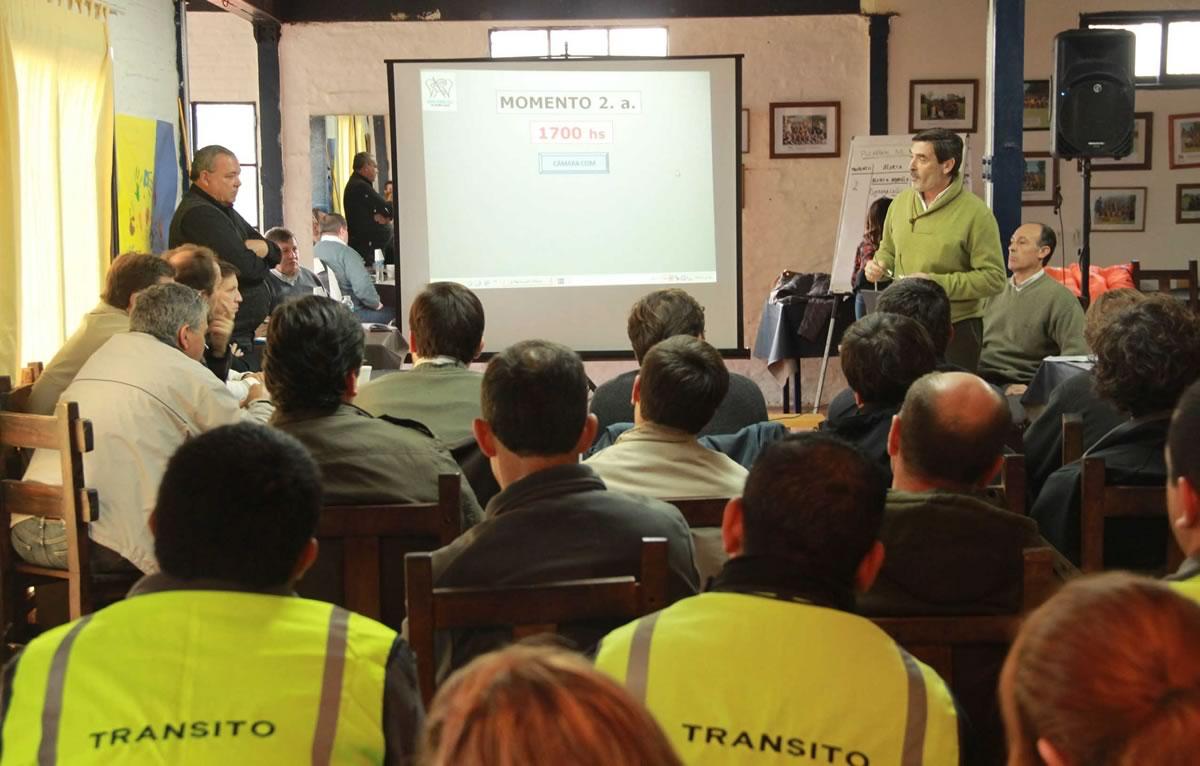 Se realizó el Plan de Alerta Meteorológica en San Miguel