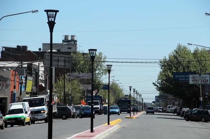 Ya funciona el nuevo Boulevard sobre la Av. Pte. Perón