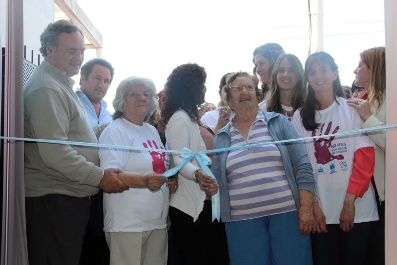 En Obligado se inauguró la primera Casa de la Mujer de San Miguel