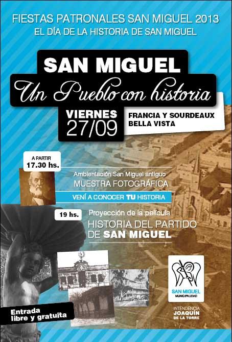 Fiestas Patronales: Día de la Historia de San Miguel