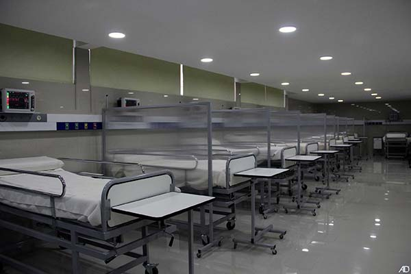 La nueva sala tiene 14 camas para terapia intensiva