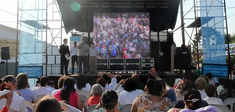 Se instalarán 104 nuevas cámaras de Seguridad, la mayoría en Ciudad Santa María