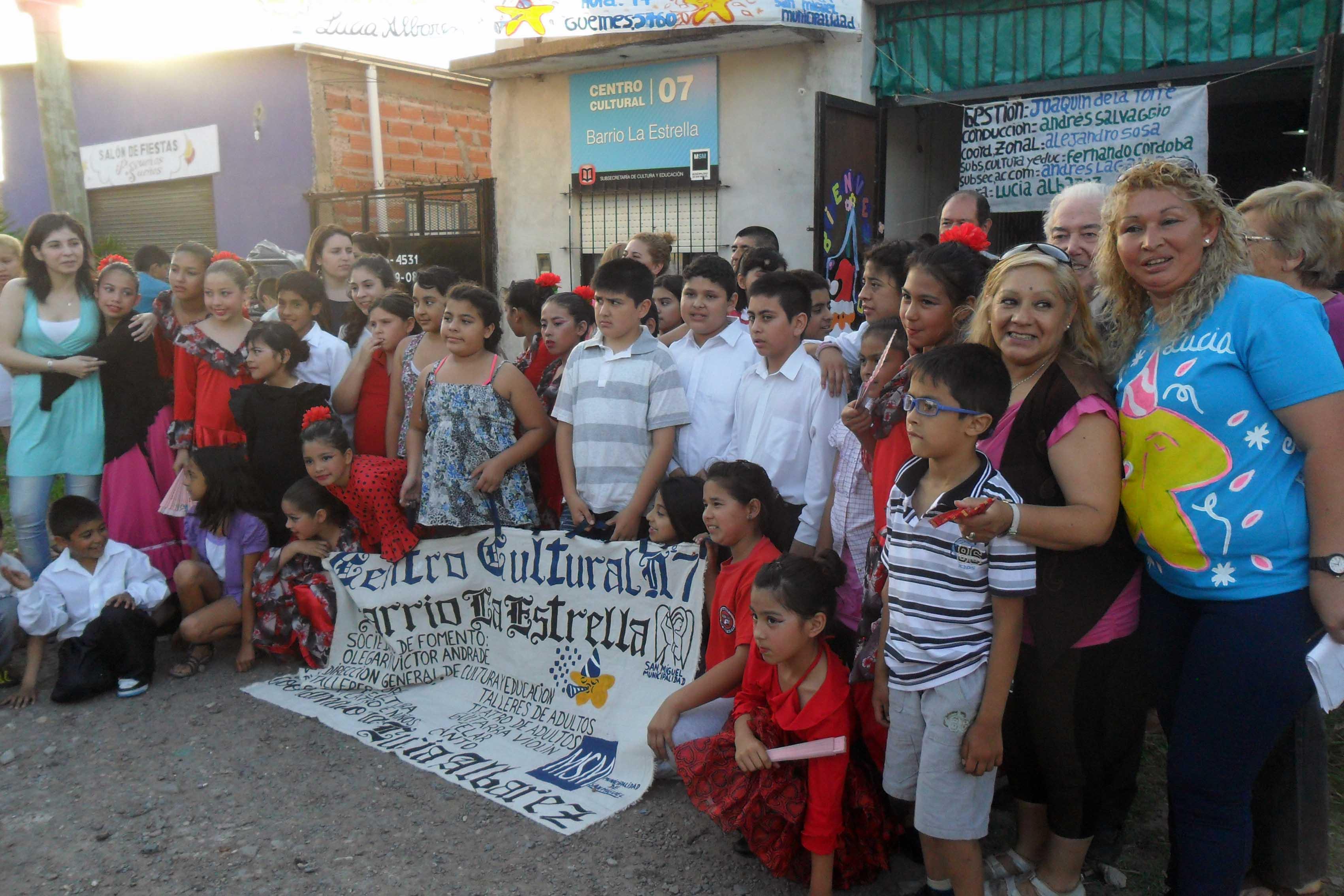 "Se realizó el cierre del Centro Cultural ""La Estrella"""
