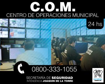 Centro de Operaciones Municipal
