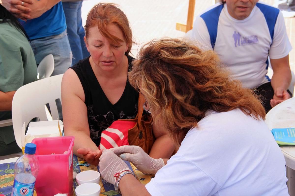Se celebró en San Miguel el Día mundial de la Diabetes