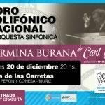 El Coro Polifónico Nacional brindará un espectáculo en la nueva Plaza de las Carretas