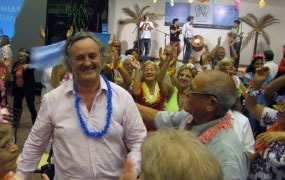 Cerraron las colonias para adultos mayores con una espectacular fiesta