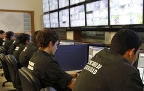 En San Miguel, las cámaras de seguridad evitaron el robo de un cajero automático