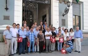 Delegación empresarial de Tucumán visitó el centro comercial de San Miguel
