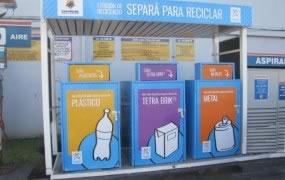 En San Miguel se inauguró la primera estación de reciclado para espacios semi públicos