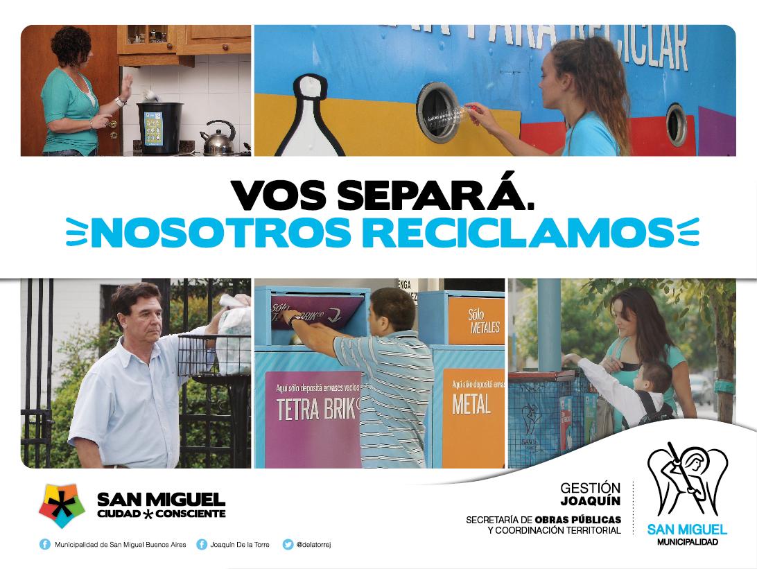 San Miguel lanza una nueva campaña de comunicación para consolidar la gestión en reciclado y cuidado del medioambiente