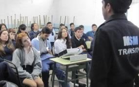Charla de Educación Vial en las Escuelas de San Miguel