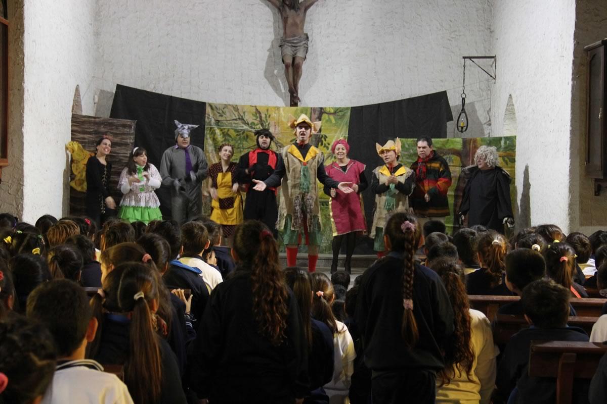 La Comedia Municipal llega a las escuelas de San Miguel