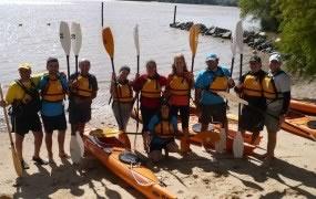 Curso de capacitación de kayak