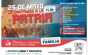 El 25 de Mayo le cantamos a la Patria