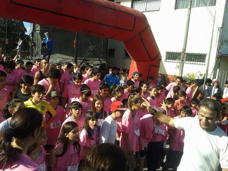 """Se corrió la II Maratón solidaria del C.D.I """"Corramos para ayudar""""; Deportes colaboró activamente"""