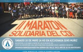 II Maratón Solidaria del C.D.I. (Centro de Desarrollo Integral)