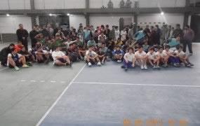 Lanzamiento de la Liga de Fútbol Infantil