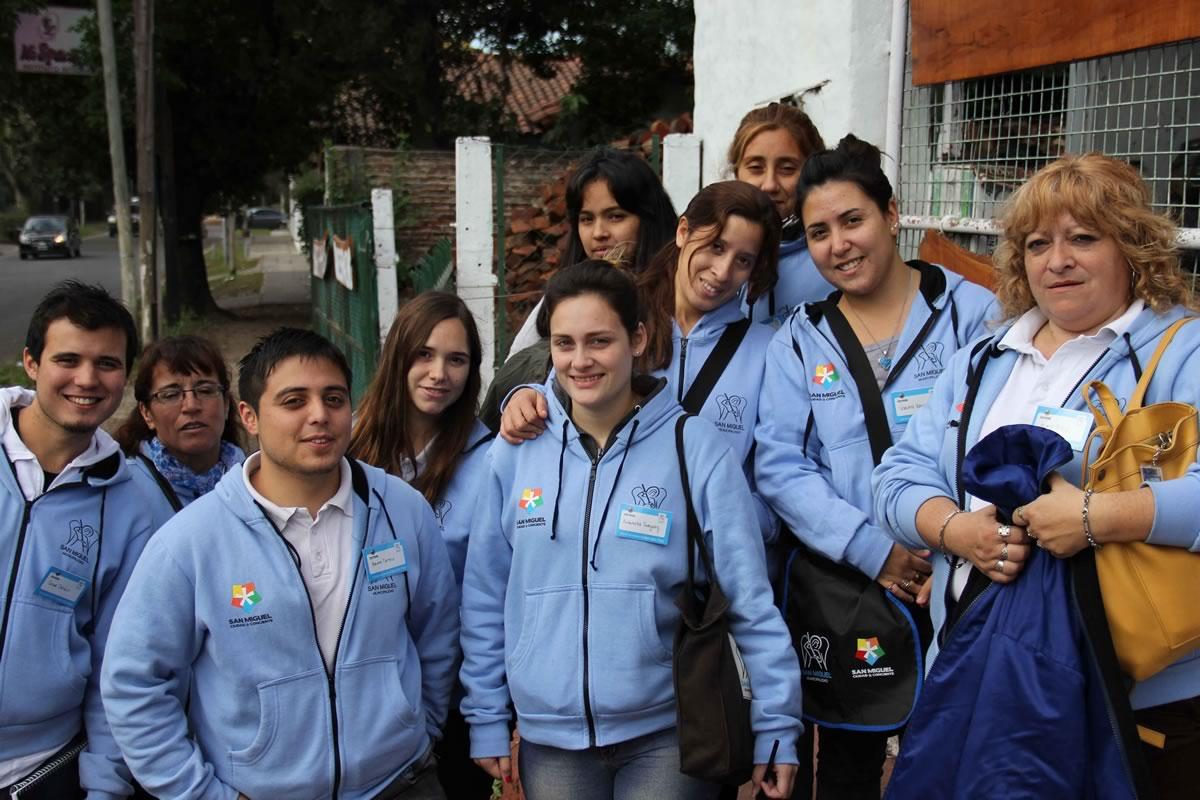 San Miguel está llevando a cabo una importante campaña de concientización ambiental casa por casa