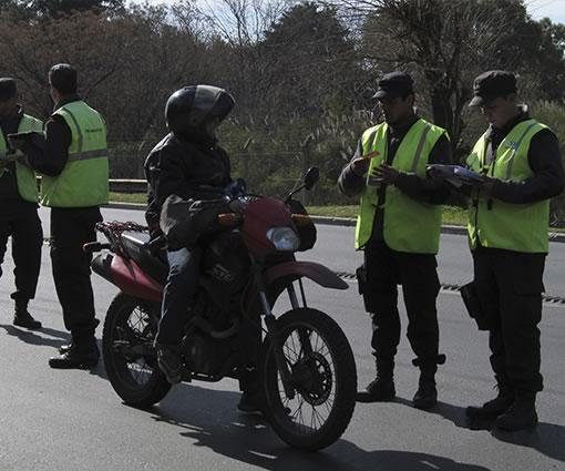 San Miguel intensifica operativo de control a motos