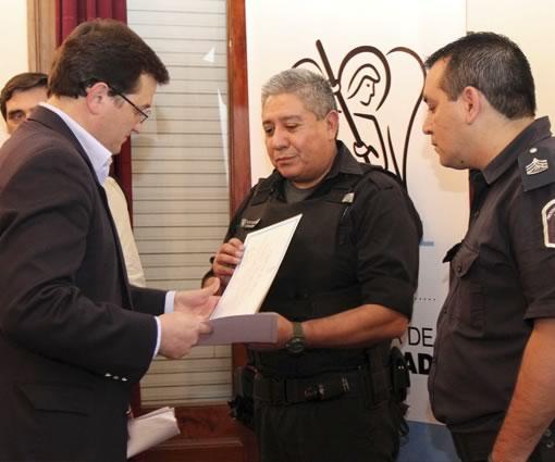 Reconocimiento a las intervenciones destacadas a favor de la seguridad pública en San Miguel