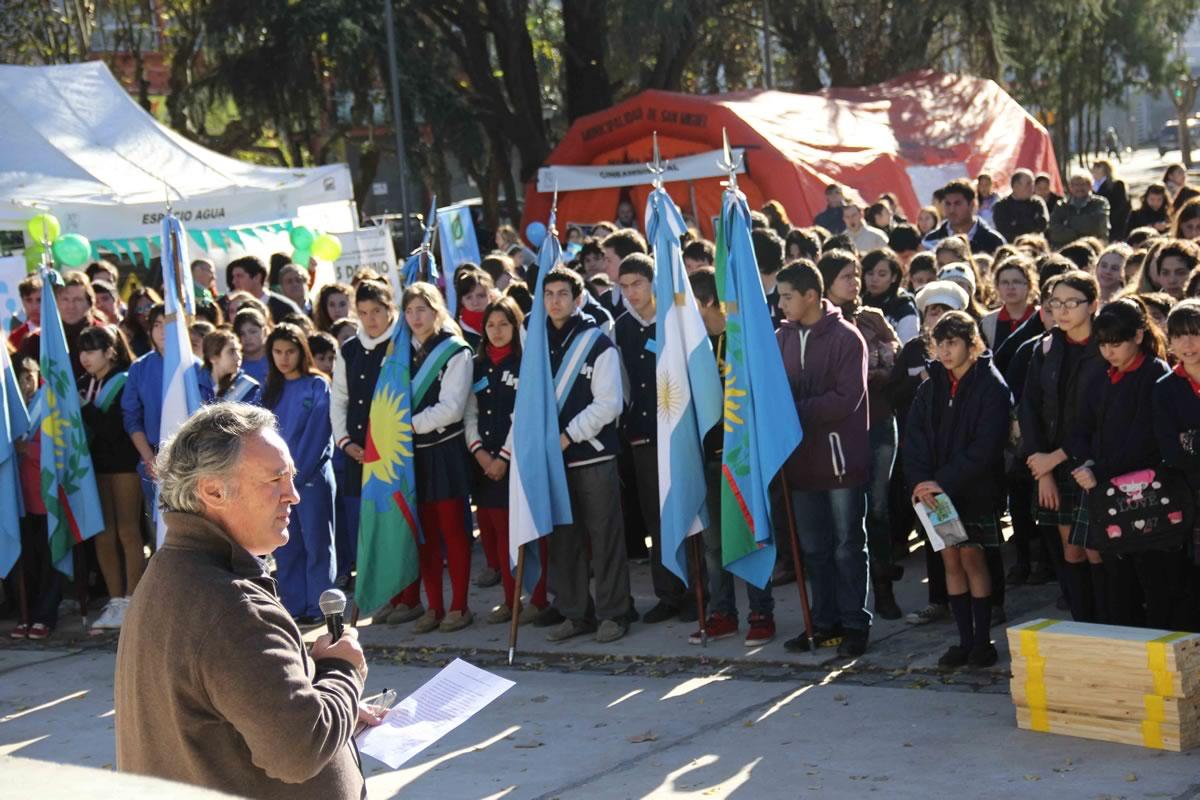 Alumnos de distintas escuelas del Municipio participaron del evento