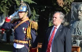 El Intendente participó de la promesa de lealtad a la Bandera