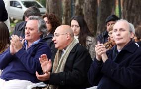 Joaquín de la Torre participó del 25 aniversario del Colegio Parroquial Patriarca San José