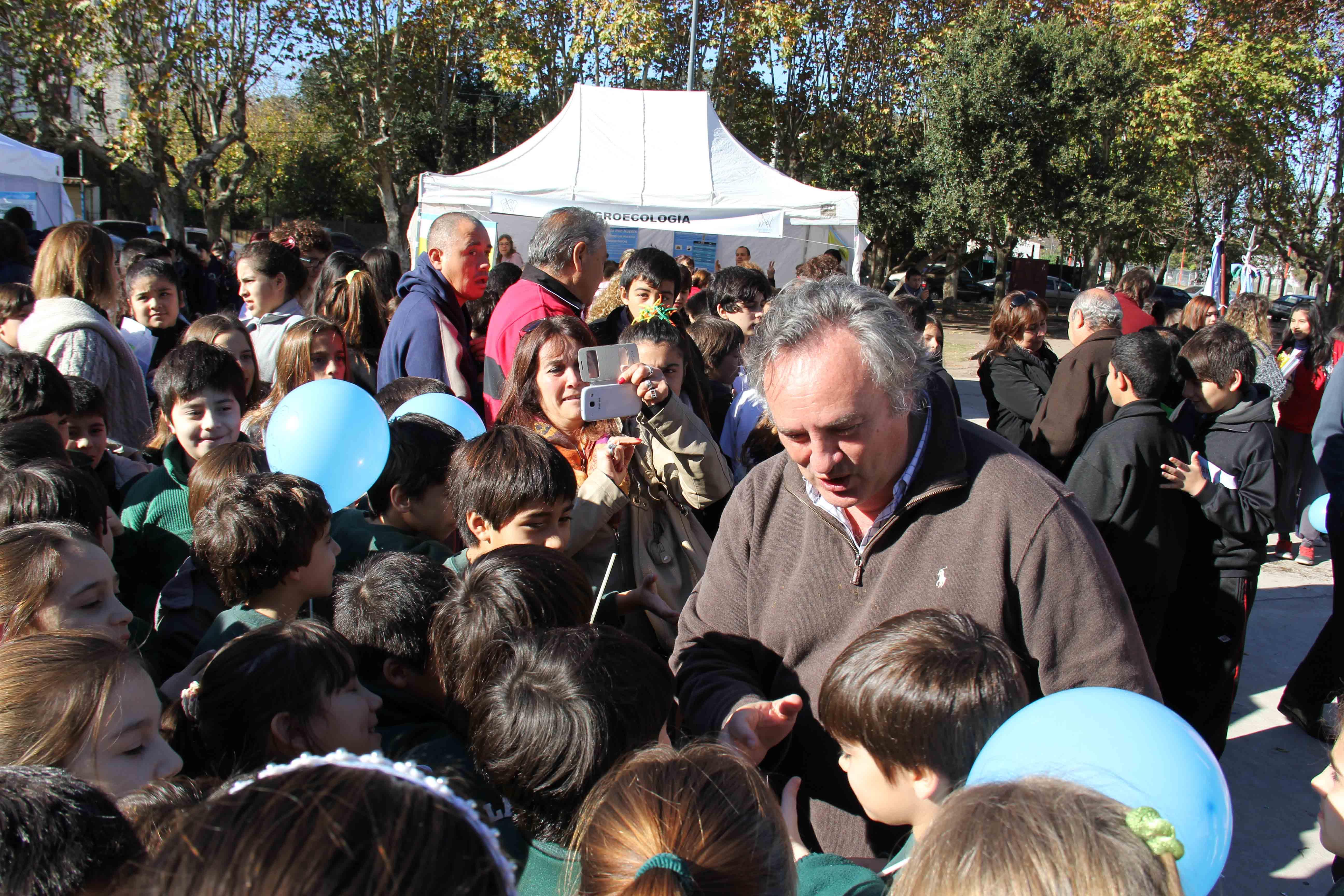 Joaquín de la Torre estuvo presente en el acto del Dia del Medioambiente