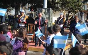 Joaquín saludó a los más de 2500 chicos