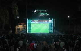 San Miguel vibró con la transmisión del Mundial en Pantalla Gigante y diversos espectáculos de música, cine y teatro
