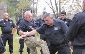 La secretaría de Seguridad continúa con el entrenamiento de los agentes municipales