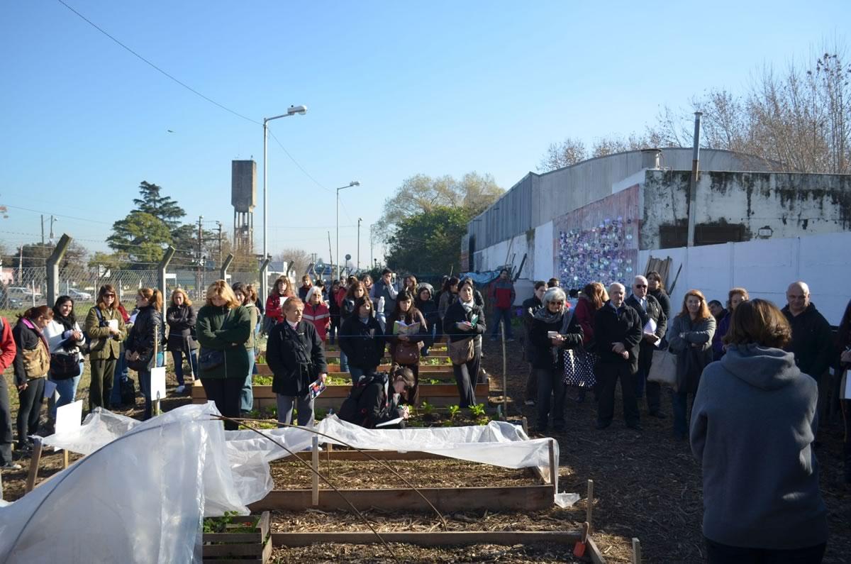 Cientos de vecinos participaron del progarma