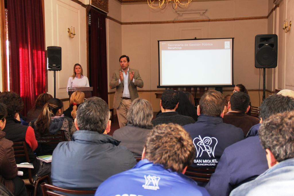 Se capacitó a los delegados del Municipio en herramientas tecnológicas
