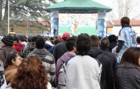 El público tomó el Fan Fest como cábala