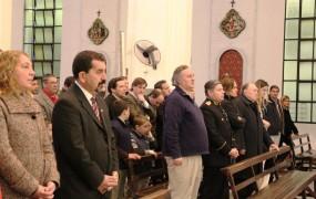 En la Catedral se realizó una misa en honor a la patria