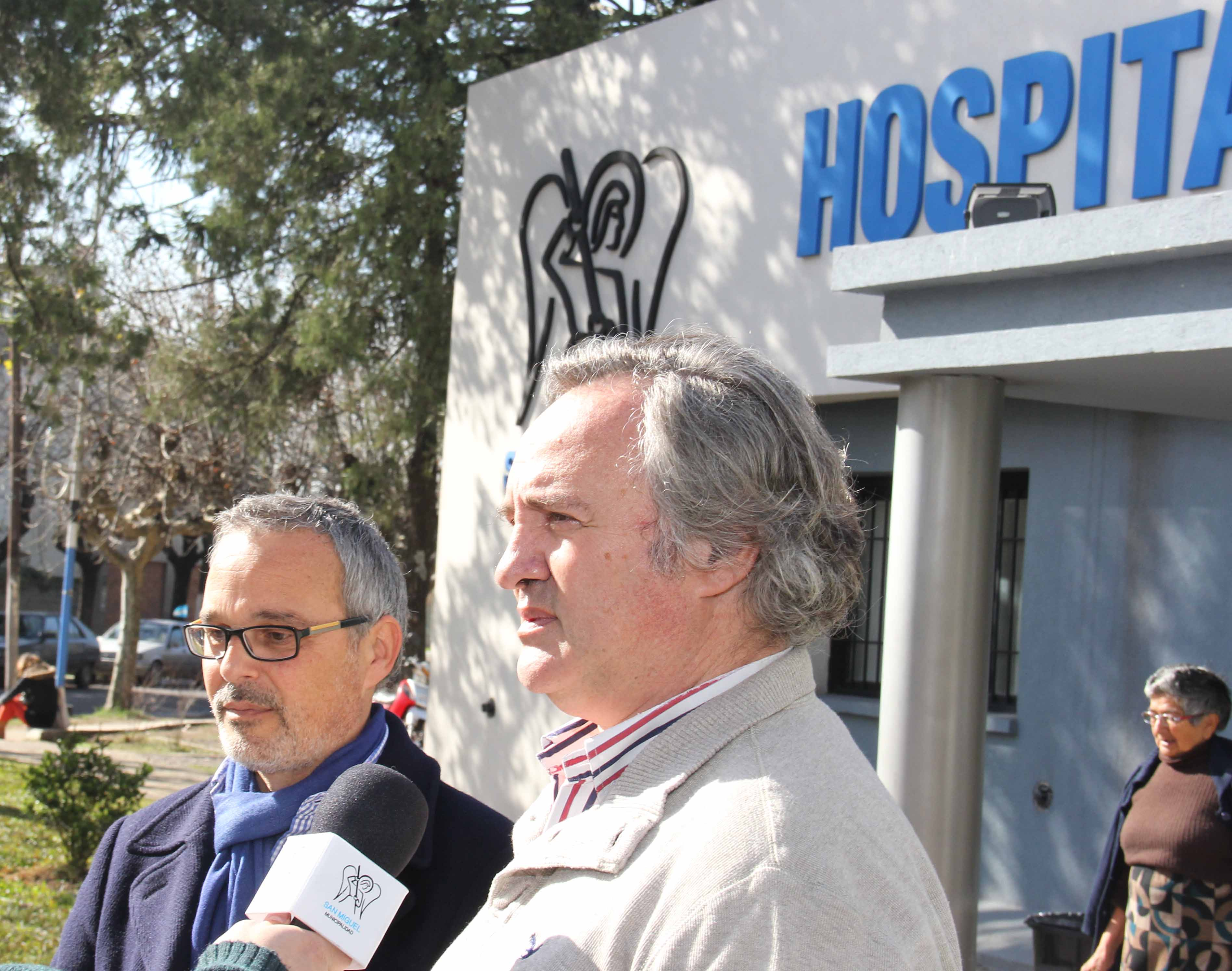 Joaquín de la Torre supervisó obras en la construcción del nuevo Hospital Central de Bella Vista