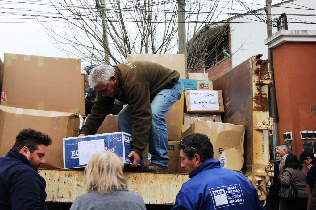San Miguel se solidarizó con los inundados de Corrientes