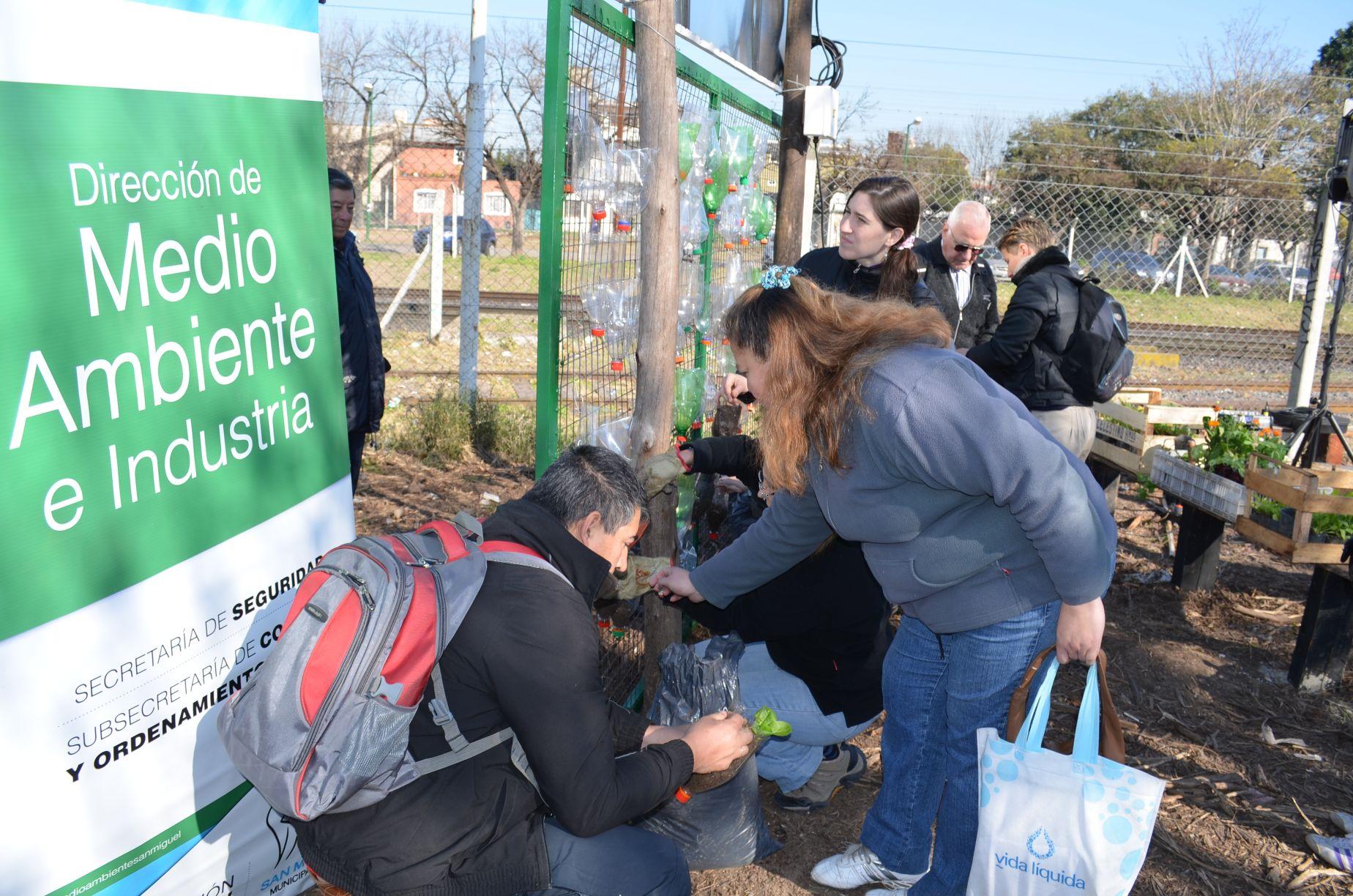 Más de 800 familias de San Miguel han retirado su kit de semillas e iniciado la autoproducción de alimentos orgánicos en forma agroecológica