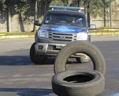La secretaría de Seguridad continúa con el entrenamiento de manejo operativo de las patrullas municipales