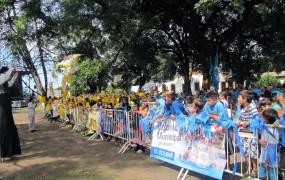 2500 niños y 600 abuelos participaron de la gran fiesta de cieere de las colonias de verano municipales