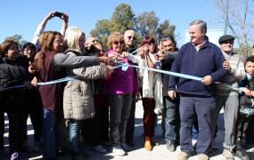 Se inauguró importante obra para descomprimir el tránsito en Bella Vista