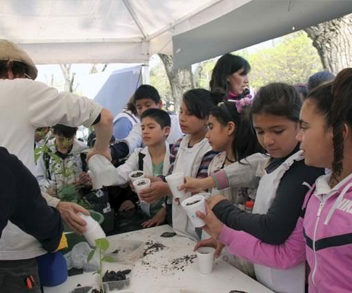 Se festejó el Día del Árbol en San Miguel