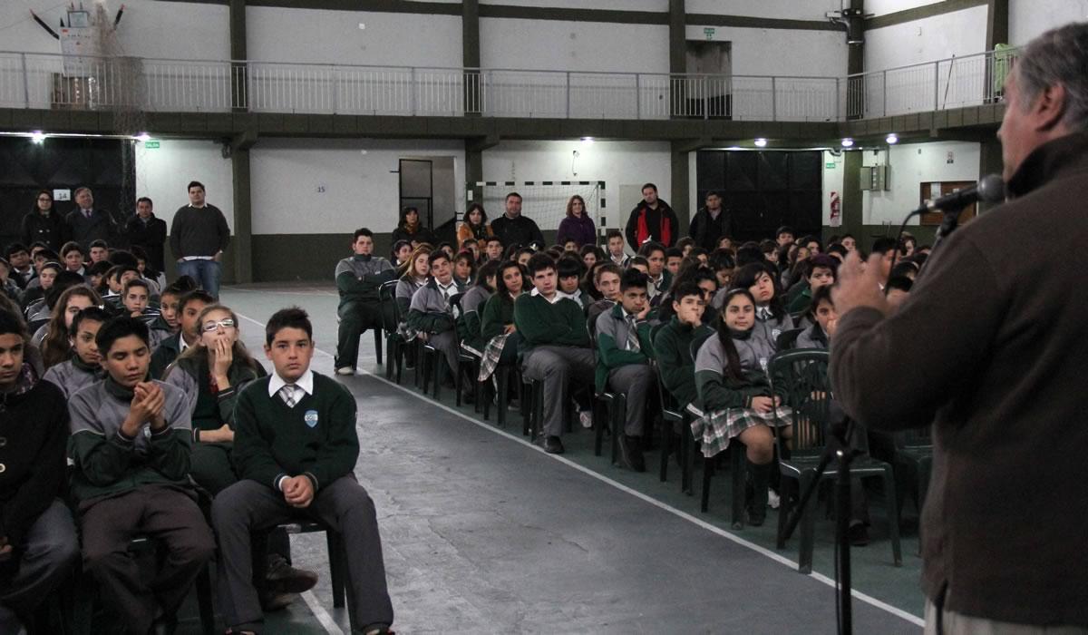 Este programa se lleva a cabo desde el año 2013 y hasta hoy participaron más de 15.000 alumnos.