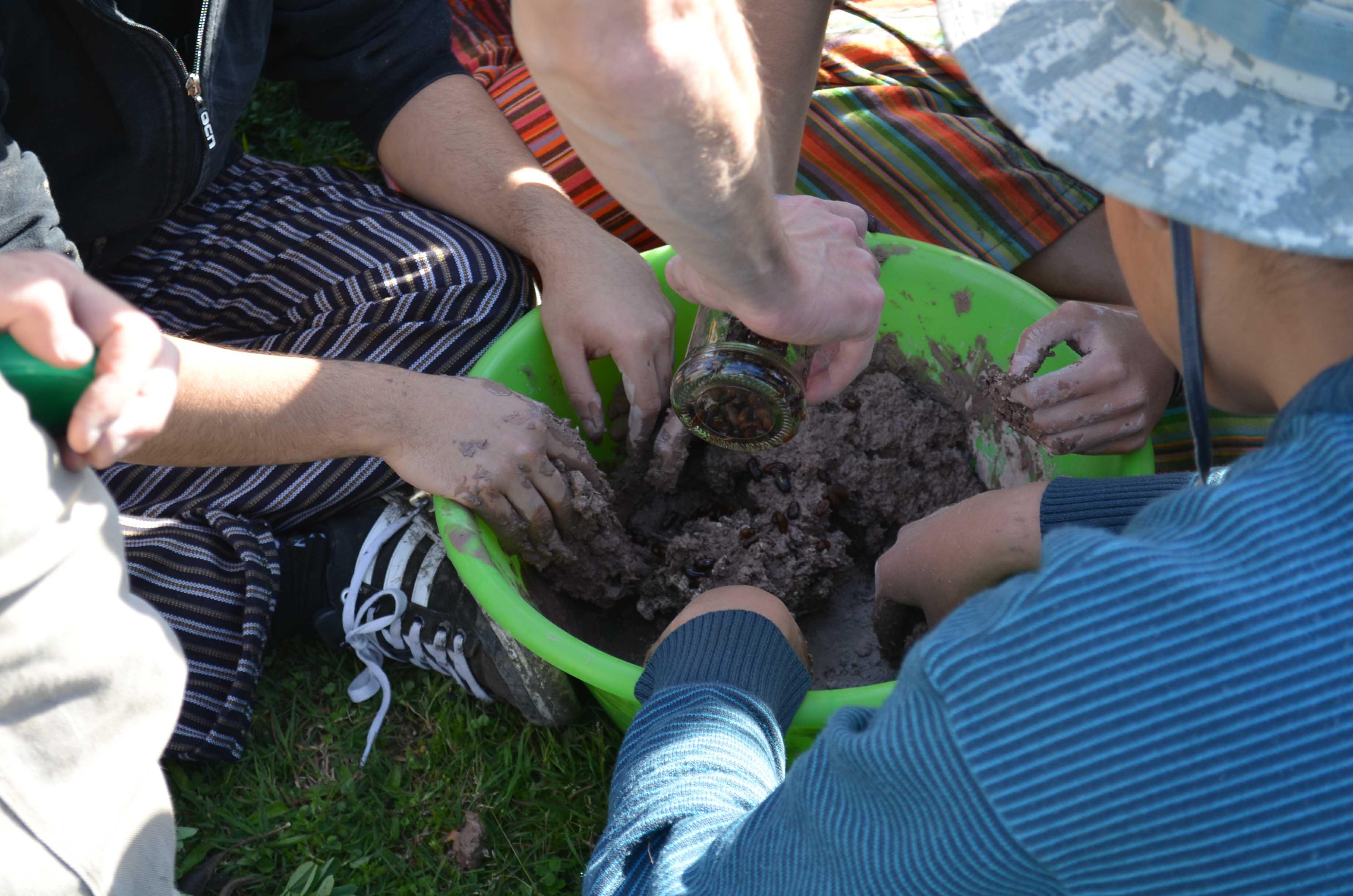 La ONG Un Árbol Para Mi Vereda brindó un taller de bombas de semillas