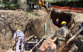 Comenzó la obra hidráulica de la Cuenca Santa Fe – Barrio Mitre que beneficiará a miles de vecinos de San Miguel
