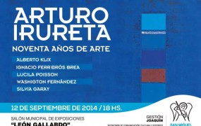 Arturo Irureta – Noventa años de arte