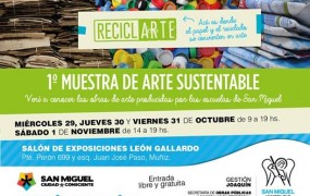 1° Muestra de arte sustentable