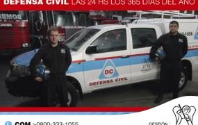 La Dirección de Defensa Civil superó las 2000 intervenciones.